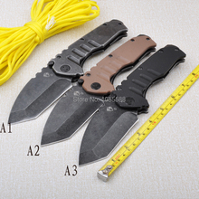 folding knife hunting knife Outdoor camping hunting survival knives 440 blade G10 handle