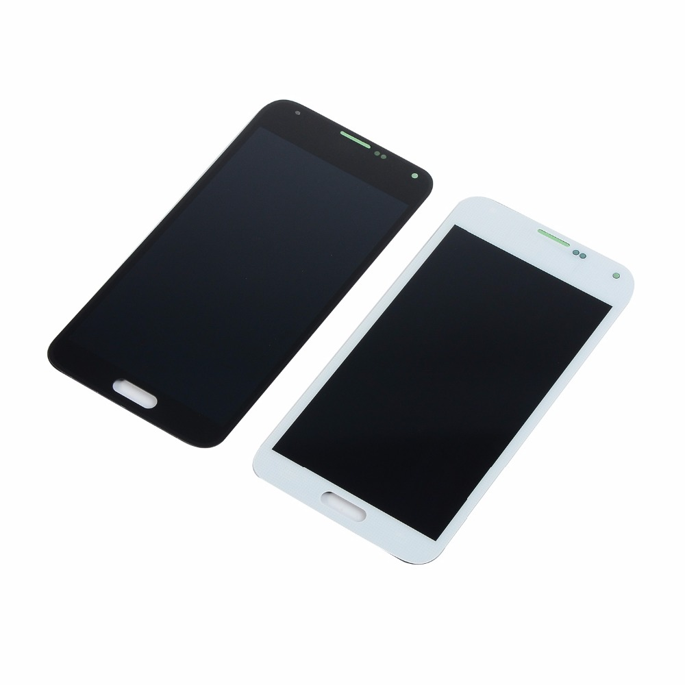 For Samsung Galaxy S5 i9600 G900F <font><b>G900H</b></font> LCD <font><b>display</b></font> Touch Screen Digitizer Assembly with Adhesive(Product has been tested) image