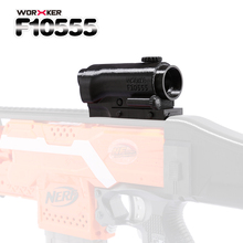 WORKER F10555 3D Printing NO.116 Decorative Front Sight Matching for Nerf Stryfe - Black