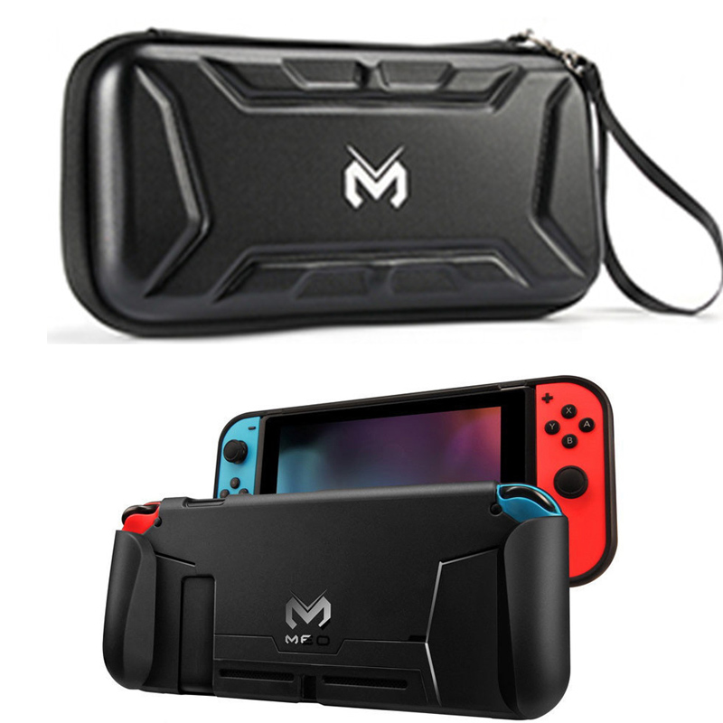 Nintend Switch Accessories Protective Cover TPU Shell Hard Storage Stand Waterproof Travel Carry Case Bag For Nintendos Switch