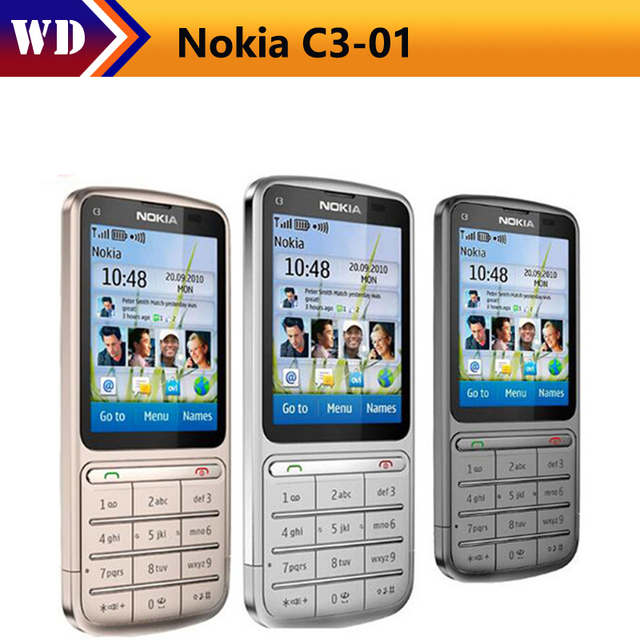 original nokia c3 01 unlocked cell phone 3g wifi bluetooth 5mp 2 4 rh aliexpress com Nokia C3- 00 nokia c3-01 manual dansk