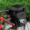 High Quality ROSWHEEL MTB Mountain Bike Carrier Rack Bag 3 In 1 Multifunctional Road Bicycle Luggage