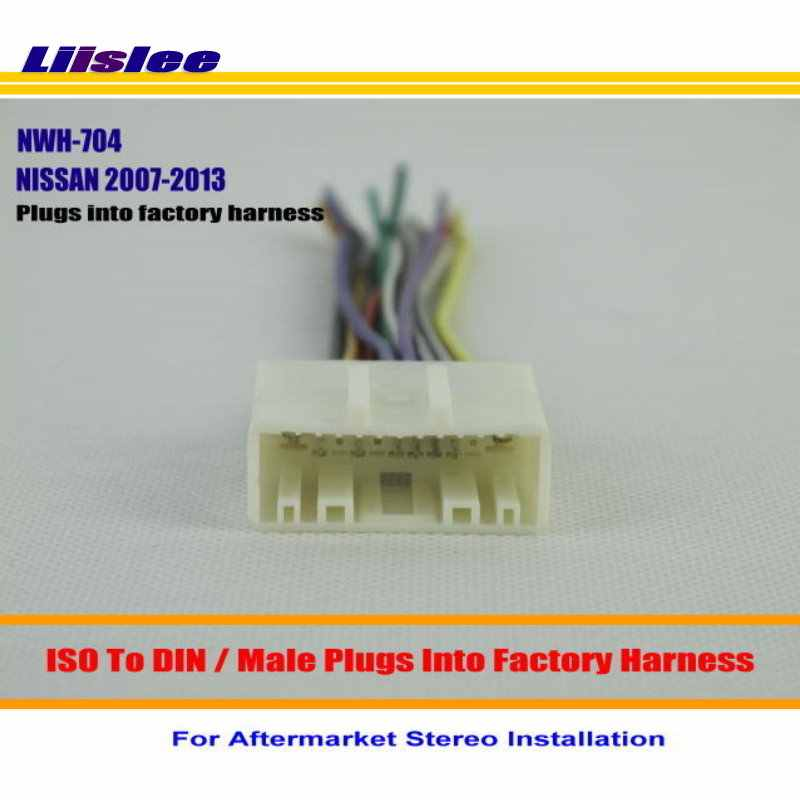 Liislee For NISSAN Pathfinder Quest Rogue / Male ISO Radio Wire Wiring on car stereo speakers, car stereo power supply, car stereo fuse, car audio harness, cd changer wire harness, car stereo circuit board, computer wire harness, car stereo remote control, car stereo radio, car stereo wiring guide, car stereo cover, car stereo color wiring diagram, car stereo housing, cd player wire harness, car stereo cooling fan, pioneer car stereo wiring harness, car stereo console part,