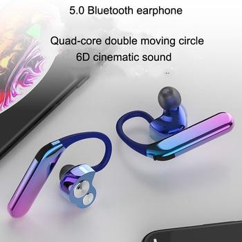 Wireless Earbuds 3D Stereo Sound Wireless Bluetooth Headphones Wireless Sport Earbud IPX7 Waterproof 10H Play Time Mini in-Ear