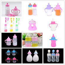 1PC Magic Baby Reborn Dolls Feeding Bottle Toy Strange Magic Prop Milk Bottle Liquid Disappearing Milk Children Gift Toy Access(China)