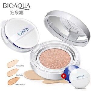 BIOAQUA Makeup Beauty 1PCS Sunscreen Air Cushion BB CC Cream Concealer Moisturizing Foundation Whitening Makeup Bare For Face