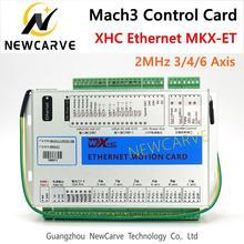 XHC Ethernet Mach3 Breakout BOARD 3 4 6 แกน USB Motion การ์ดควบคุม Resume 2MHz สำหรับเครื่องกลึง CNC แกะสลัก NEWCARVE