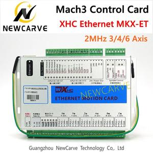 Image 1 - XHC Ethernet Mach3 Breakout Board 3 4 6 Axis USB Motion Control Card Resume 2MHz Support For CNC Lathe Engraver NEWCARVE