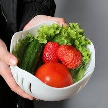 Salad Cutter Bowl Easy Salad Fruit