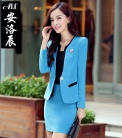 2014 Autumn new Korean Women career suits dress female three piece long sleeved women dresses