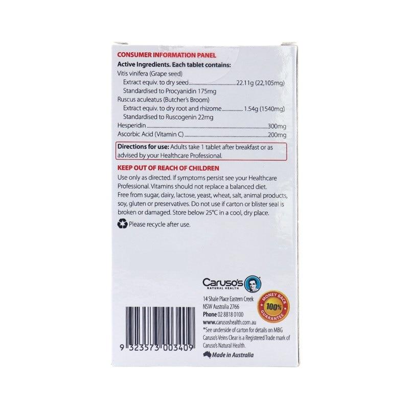 Carusos Natural Health Veins Clear (2)