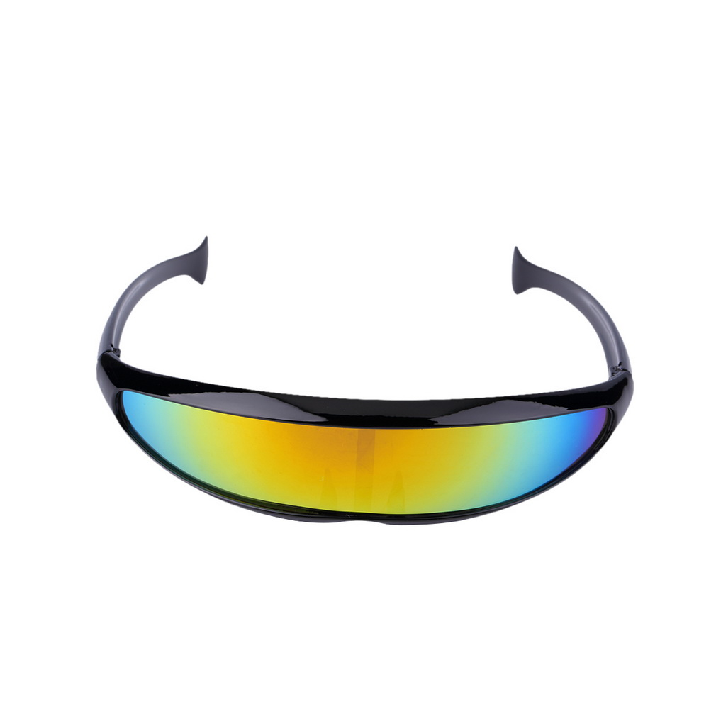 Men Women Cycling Goggles Lens Resin Cool Cycling Spectacle Ski Skate Eyewear Windproof UV Reflective Protective Sport Sunglass