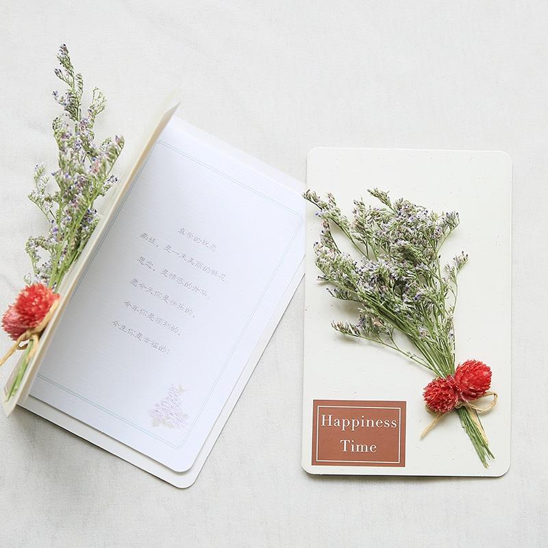 30pcs 141x9cm wedding blessing card custom made flowers