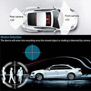 Image 4 - Cámara de salpicadero 1080P 4,3 pulgadas espejo de cámara de coche 170 HD cámara grabadora de conducción visión nocturna Auto DVR Camem grabadora de cámara de vehículo