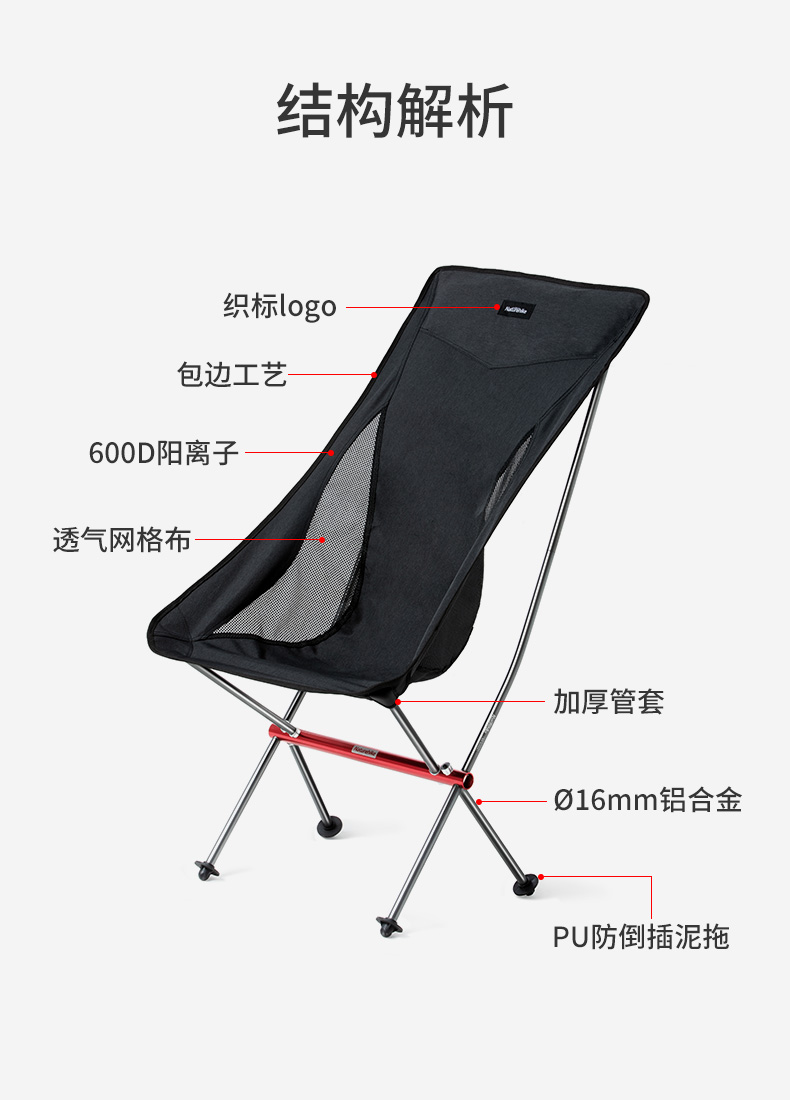 Prime Us 58 99 50 Off Naturehike New Portable Folding Moon Chair Camping Hiking Gardening Barbecue Chair Folding Stool Art Sketch Chair In Outdoor Forskolin Free Trial Chair Design Images Forskolin Free Trialorg