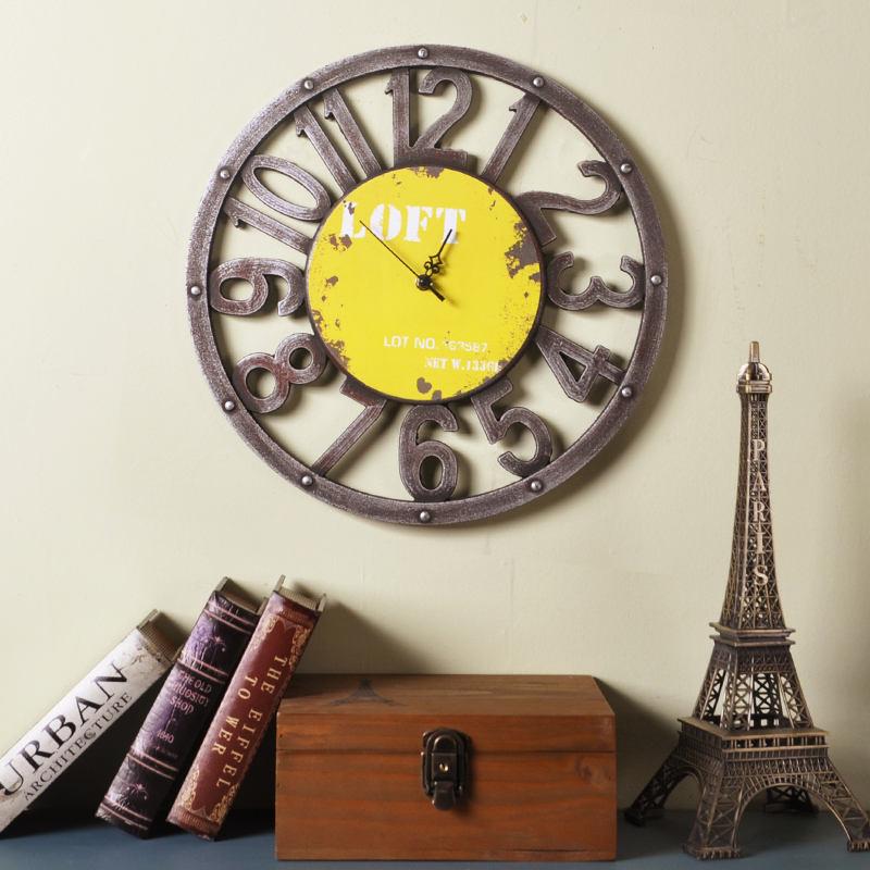 2017 zegar ścienny Saat Reloj zegar Relogio de parede duvar saati - Wystrój domu - Zdjęcie 2