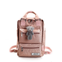 Women Leisure Backpack for Girls Travel Schoolbags College Student Capacity Laptop Backpack Bookbags Multifunction Business Bags jianxiu women female backpack girls schoolbags canvas graffiti backpacks bag dots print travel student bags big capacity