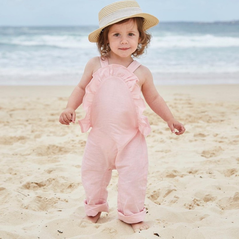 Kids Baby Girls Strap trousers Halter Strap Romper Jumpsuit Harem Pants Trousers Overalls Chidren Girls Summer Clothing