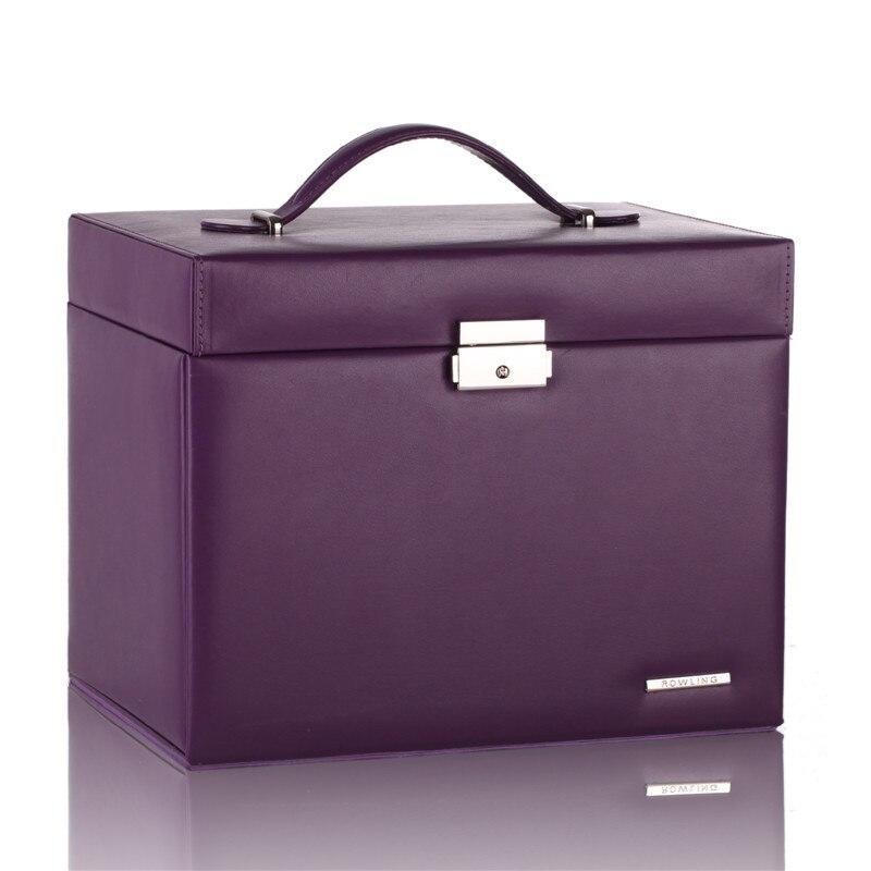 purple jewellery box
