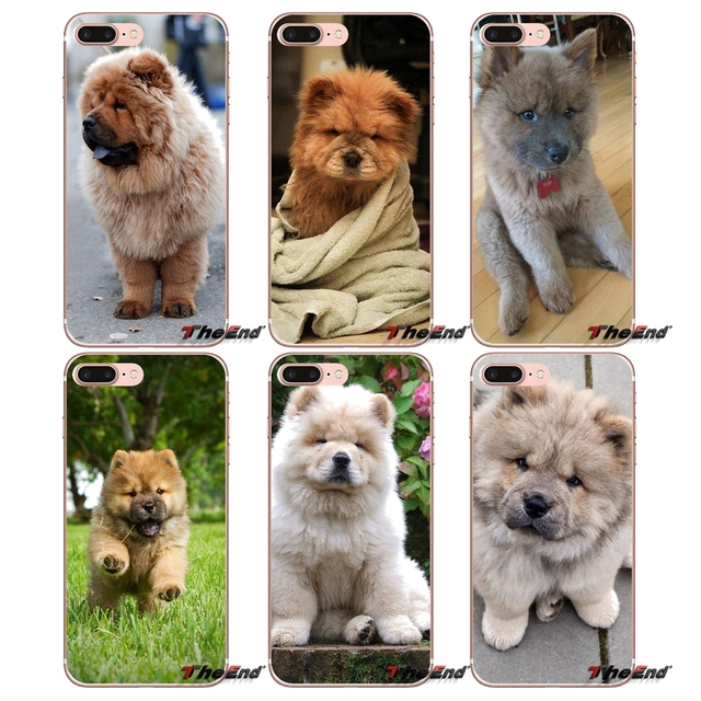 Chow Dog Puppy Animal Silicone Case For Samsung Galaxy S3 S4 S5 Mini S6 S7