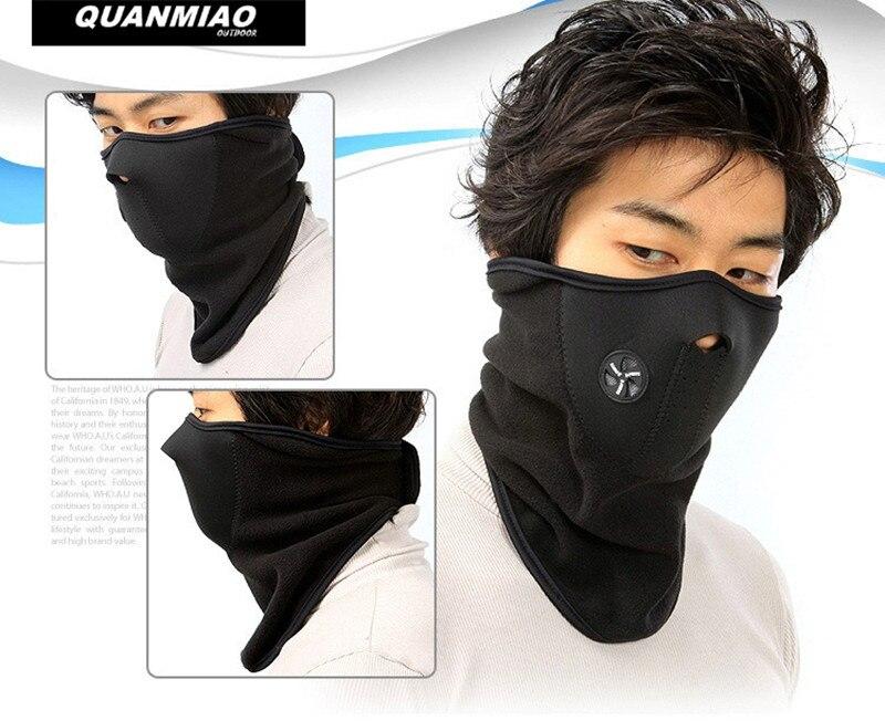 Royaume-Uni Noir Balaclava Masque Sous Casque Hiver Chaud Armée Style Cou Sauteur Chaud x