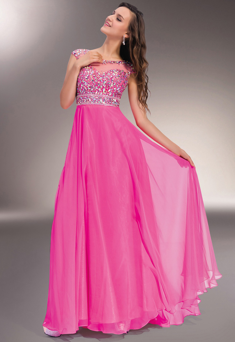 Dorable Vestidos De Fiesta De Color Rosa Embellecimiento - Ideas de ...
