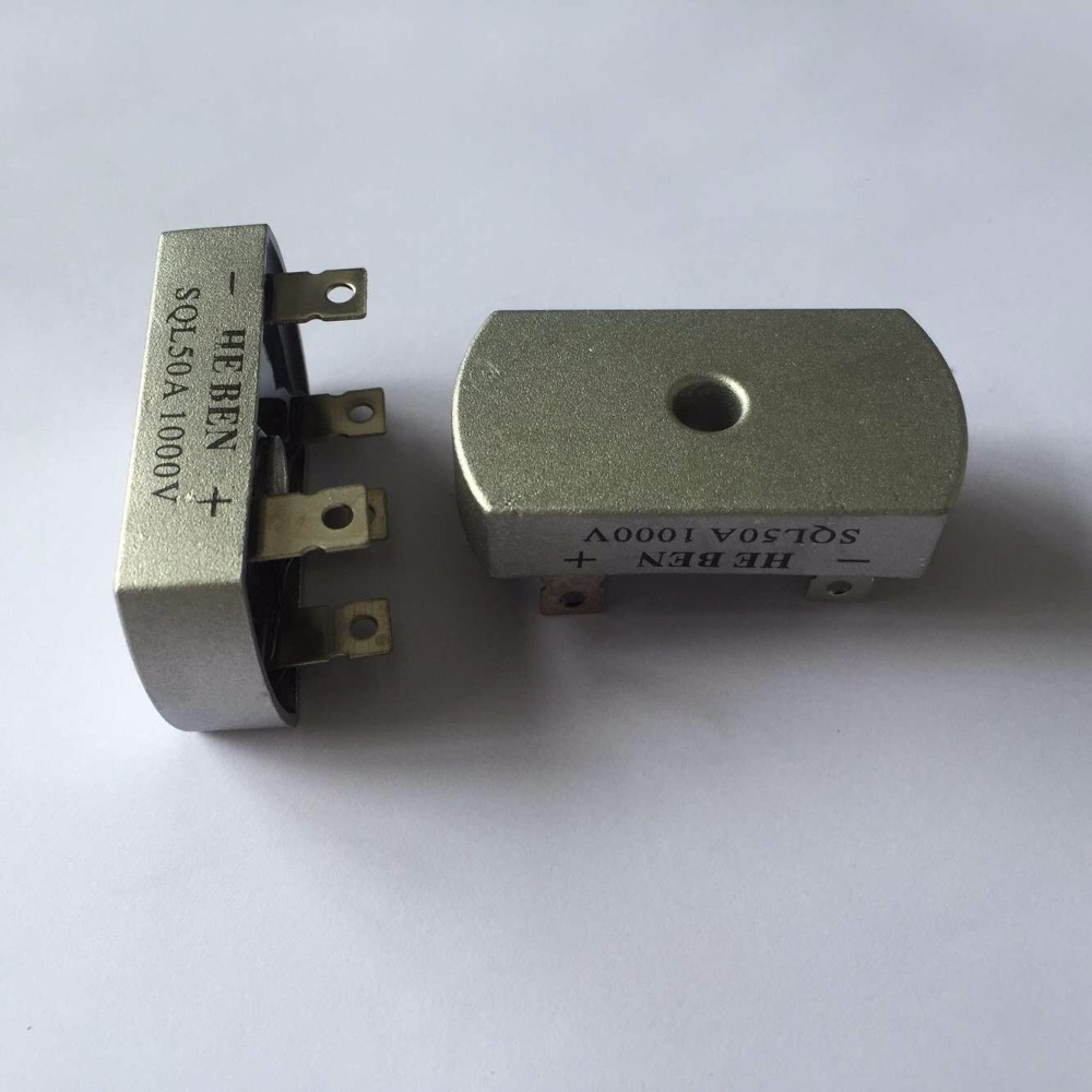 20Pcs/Lot <font><b>SQL50A</b></font> Bridge Rectifier 3 Phase Diode 50A Amp <font><b>1000V</b></font> Brand New image