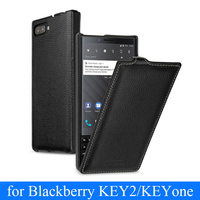 New Genuine Leather Flip Cover Card For Blackberry KEY2 KEY Two BBF100 1 Mobile Protective Stand Case Leather Cover For KEYone