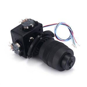 Image 5 - Elektronik 4 Axis Joystick Potansiyometre Düğmesi JH D400X R4 10 K 4D Denetleyici için Tel ile endüstriyel