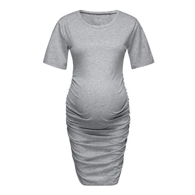 MUQGEW Summer Maternity Dresses for Pregnancy 1