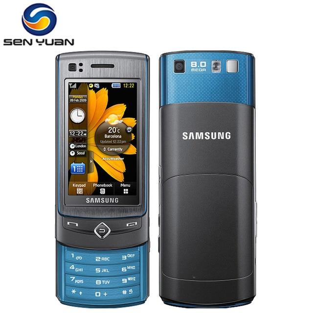 D bloqu original samsung s8300 mobile t l phone 3g gps - Telephone portable 8 megapixel ...