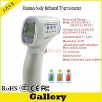 Dijital Termometre Termometre Kulak Yeni Bebek Yetişkin Çok Fonksiyonlu Temassız Kızılötesi Alın Vücut Abs Lcd Ekran