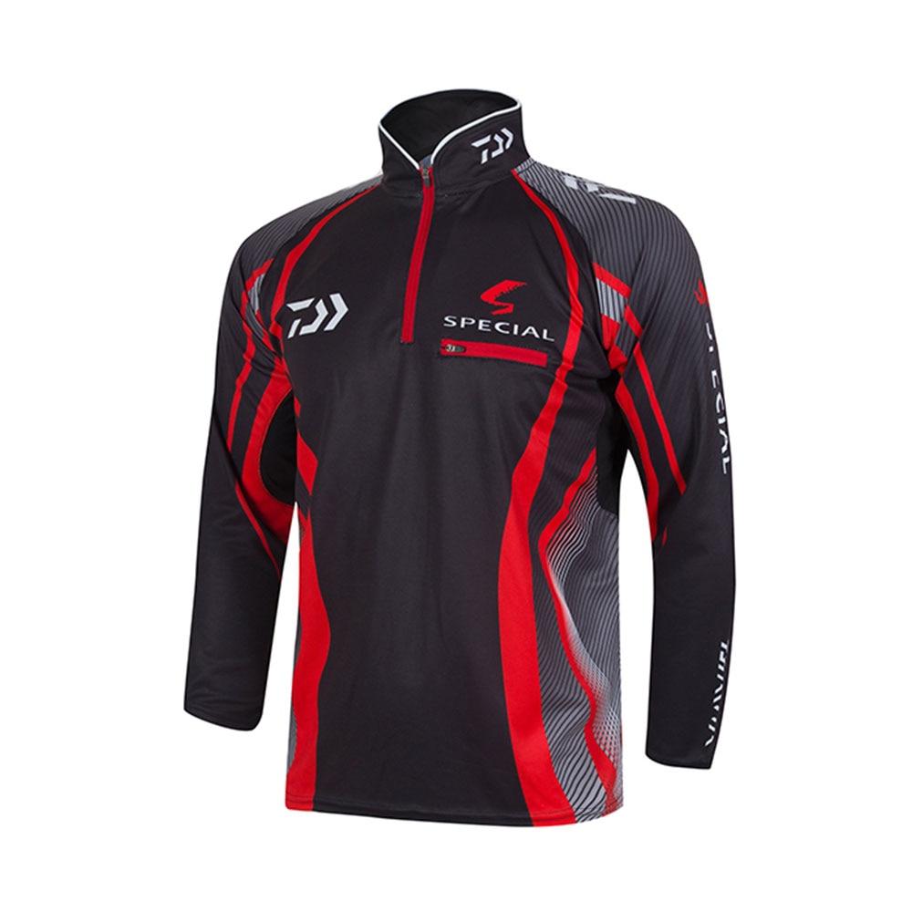 Brand clothes for fishing 2016 new daiwa fishing shirt for Uv fishing shirts