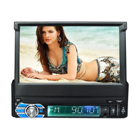 7 Capacitive Touch Screen 1Din 1024 600 Android 4 4 Car Radio Stereo Universal For GPS