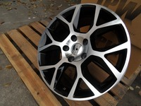 18 for VW GTI HYPER SILVER LAGUNA RIMS WHEELS 5X112 +45MM OFFSET W640