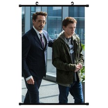 Tom Holland Poster Canvas Painting Movie Spider Man Paper Home Decor Wall Art for Bar Cafe Living Room