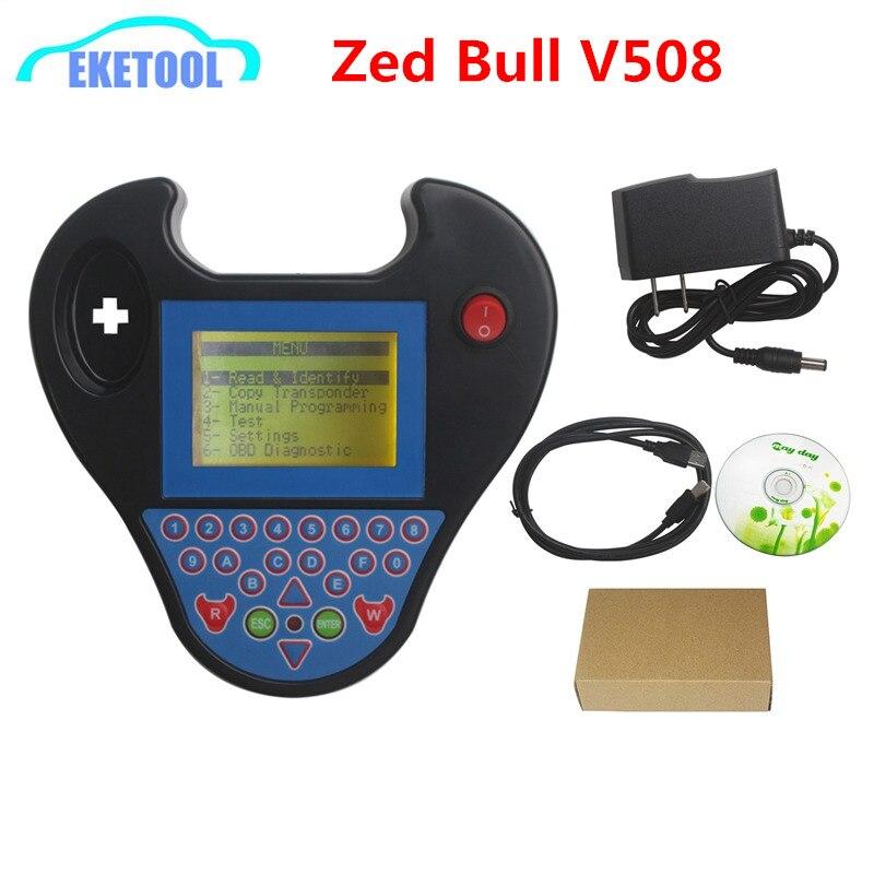 MINI ZED BULL V508 Multi-Language Smart Zed-Bull Super Programming ZedBull Professional Immobilizer 2 Colors Best Quality