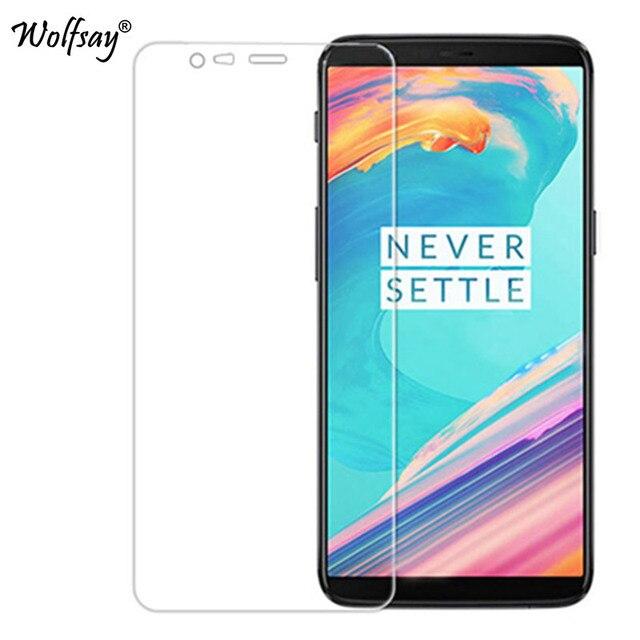 2 adet cam Oneplus 5T ekran koruyucu için temperli cam telefon filmi Oneplus 5T için cam için bir artı 5T A5010 koruyucu film