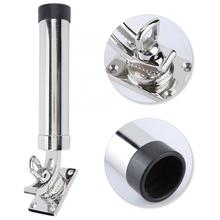 hatch handles Stainless Steel 360 Degrees Rotation Marine Boat Fishing Rod Holder Rack Support Accessory boat parts New