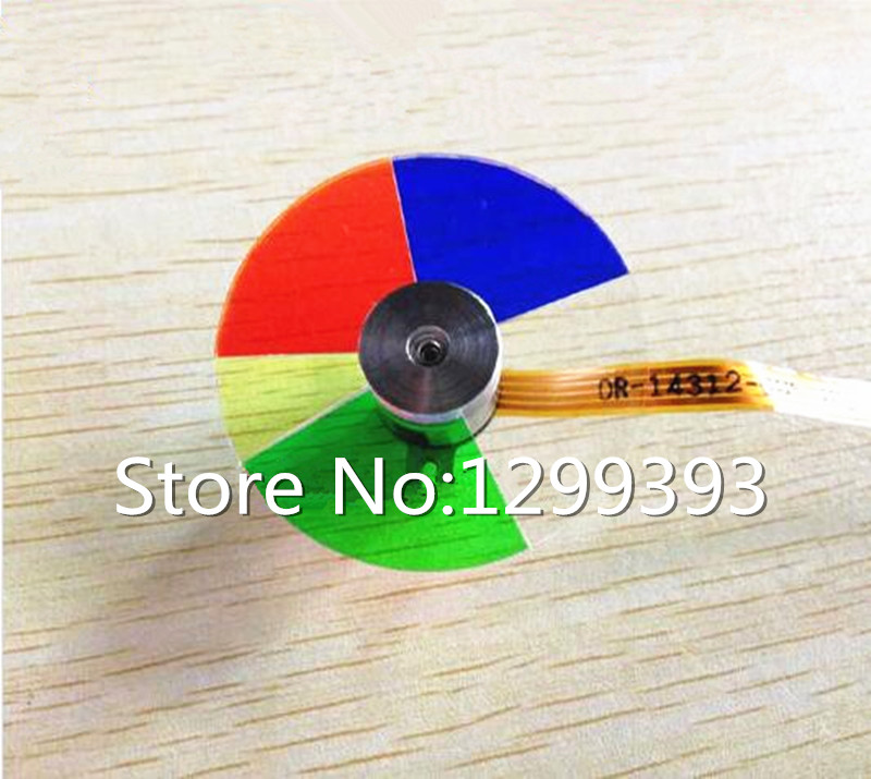 Projector Color Wheel for  BENQ  MP514  Free shipping projector color wheel for benq w1000 p n oc cw 6ba ad176