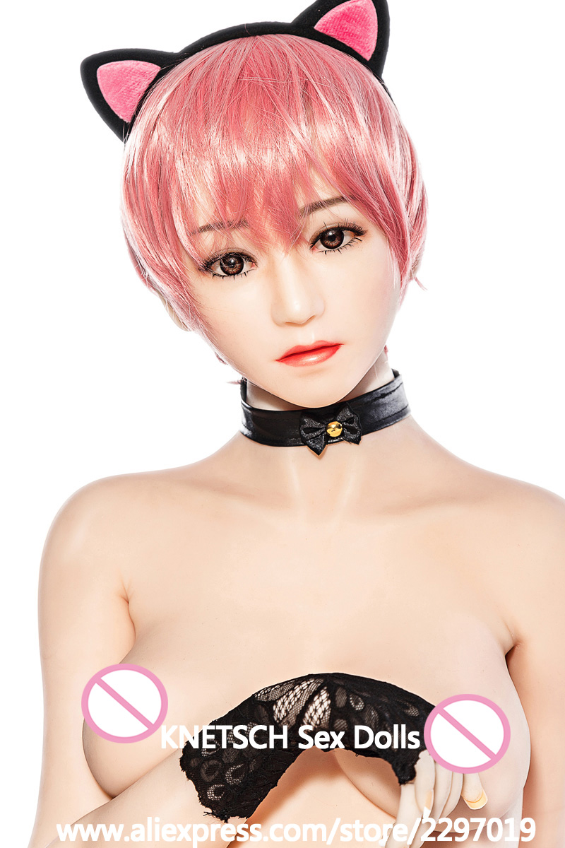 165cm Lifelike Real Asia Sex Doll Full Size with skeleton Silicone small breast Love Doll Oral