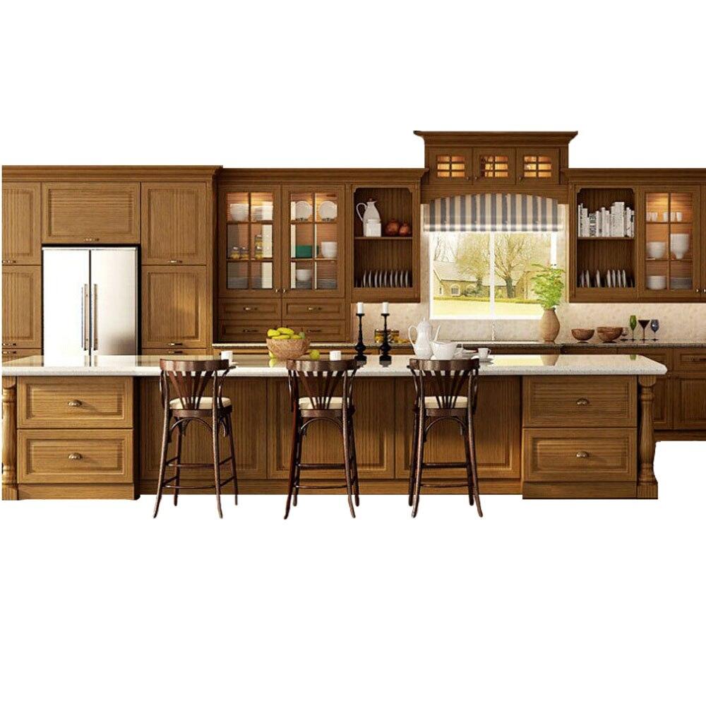 Aliexpress Com Buy Ghana Top Furniture Custom Wood Kitchen Cabinet