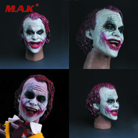 1:6 Scale Male Red Haired Smiley Clown Head Sulpt Carving Model Toys for 12Action Figure Model Accessories in Stock