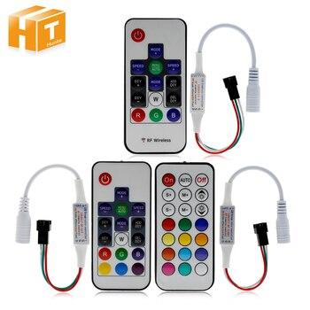 Dream-Color Controller 14 Key LED 2017 DIY RF Remote Control DC5V-24V 358 Kinds of Changes Effects For WS2812B WS2811 Strip резак для щеток стеклоочистителей