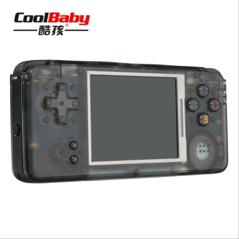 coolbaby RS-97 RETRO Handheld Game Console Portable Mini Video Gaming Players MP4 MP5 Playback Built-in3000 gamesChildhood Gifts emblem