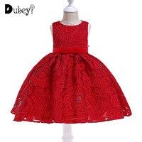 Lace Tutu Princess Dress Girls Party Dress Elegant Little Girl Evening Prom Costumes Kids Frocks Dress Up for A Girl