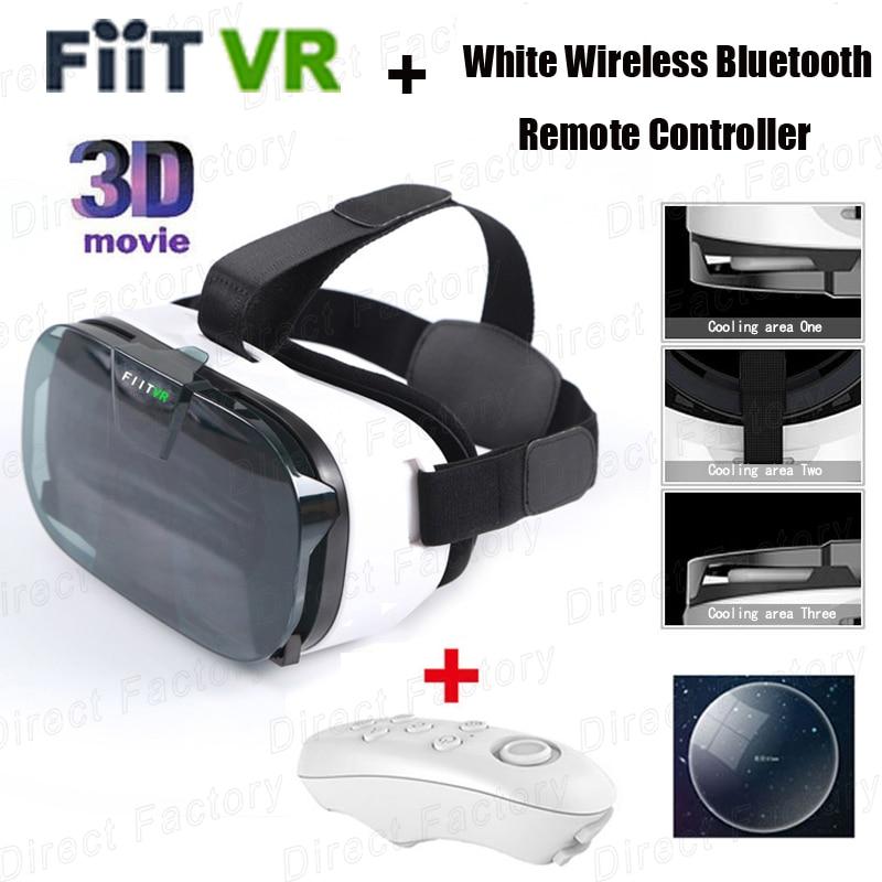 FIIT font b VR b font 2N Google cardboard Version Virtual Reality 3D Glasses HD font