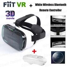 FIIT VR 2N G Oogleกระดาษแข็งรุ่นความจริงเสมือนแว่นตา3D HD VRแว่นตาvrกล่อง+สีขาวไร้สายบลูทูธระยะไกลควบคุม