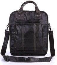 JMD Latest Vintage Leather Dark Gray Men's Backpacks Should Bag Men Travel Bags 7168J