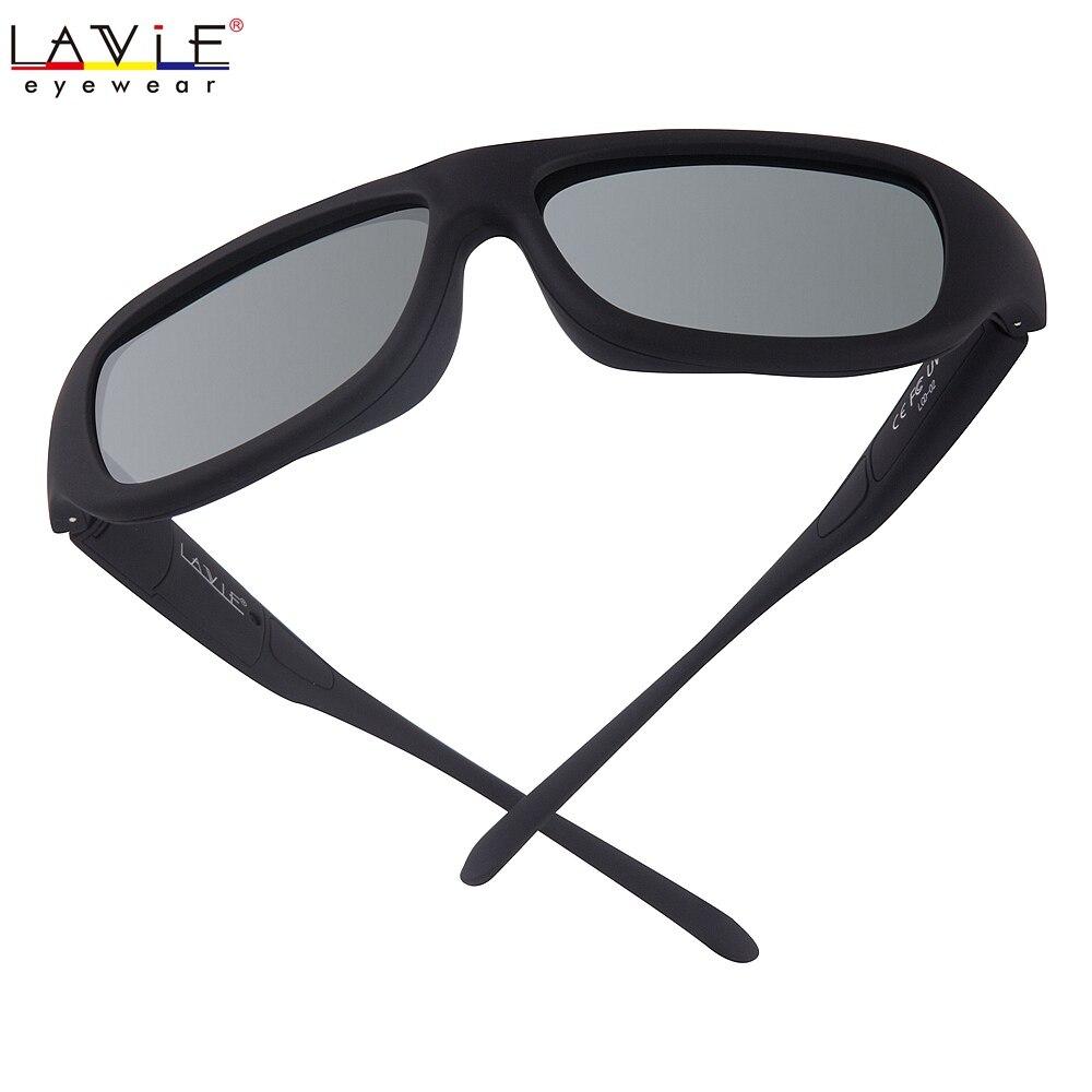 Original Design Magie LCD Polarisierte Sonnenbrille Einstellbare Durchlässigkeit Dunkelheit mit Flüssigkeit Kristall Linsen 6716